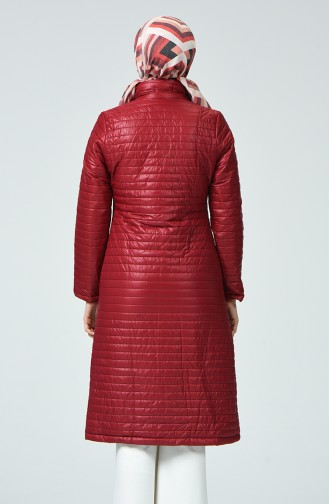 معطف مبطن بسحاب أحمر 1440-01