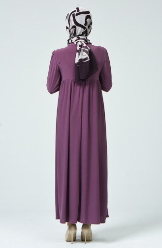 Beige-Rose Hijap Kleider 1934-01