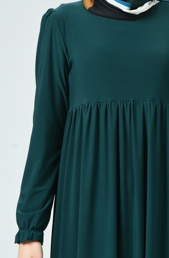 Robe Sandy Froncée 1934-03 Vert émeraude 1934-03