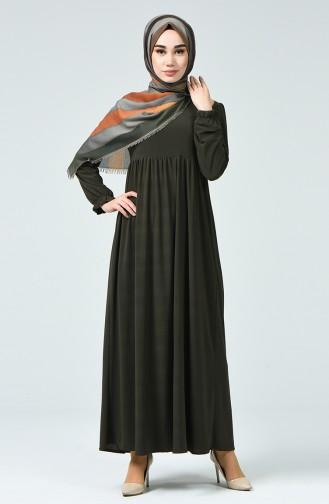 Robe Sandy Froncée1934-06 Khaki 1934-06