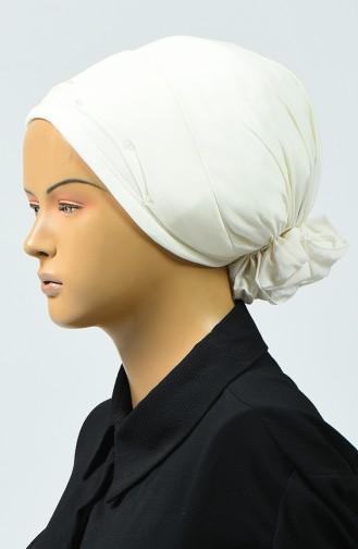 Bonnet Detail Mousseline 7005-10 Crème 7005-10