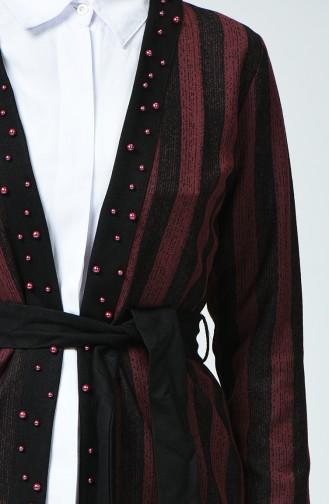 Claret red Vest 3009-05