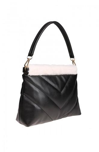 Sac Pour Femme M375-105 Noir Blanc 375-105
