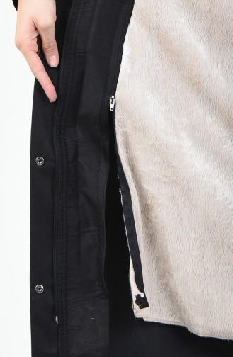 Schwarz Mantel 6830-01