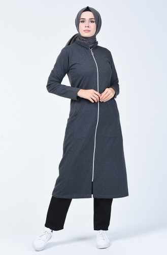 Zippered Sports Cape 7402-04 Anthracite 7402-04