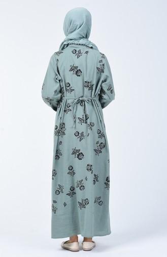 Green Dress 0450-09