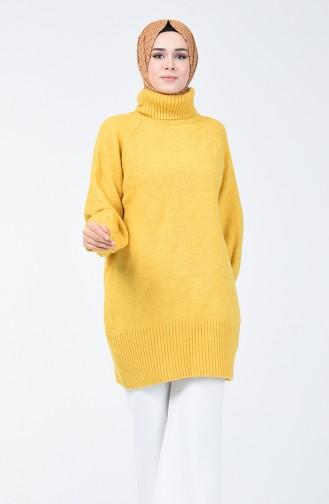 سترة أصفر خردل 7066-06