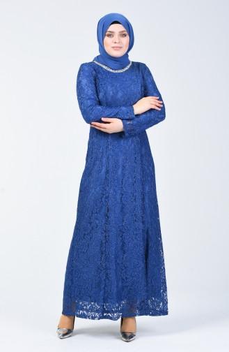 Habillé Hijab Blue roi 2054-05