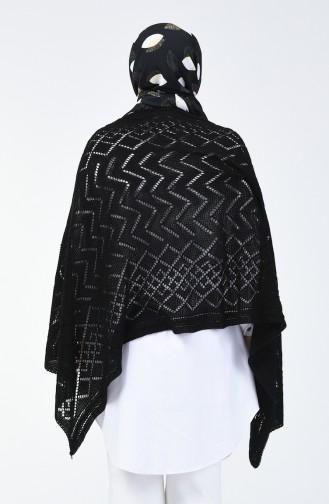 Châle D´épaule Tricot 1990-01 Noir 1990-01
