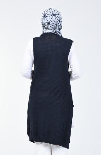 Navy Blue Vest 2002-04