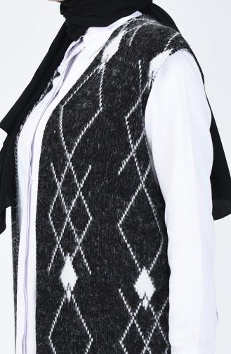 Gilet Tricot à Motifs 2003-06 Noir 2003-06