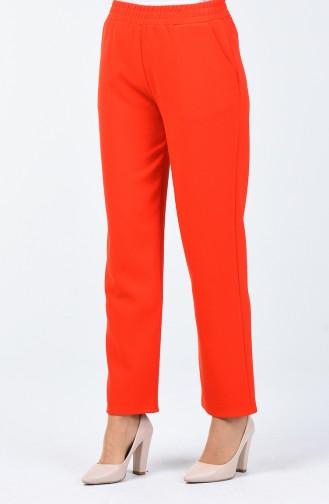 Pantalon Taille Élastique 1305PNT-03 Fleurs de Grenadine 1305PNT-03