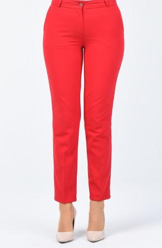 Pantalon Classique 1338PNT-04 Rouge 1338PNT-04