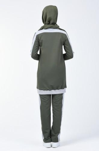 Garnili Eşofman Takım 8042-02 Haki