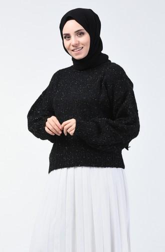 Trikot Silberner Pullover 3036-02 Schwarz 3036-02