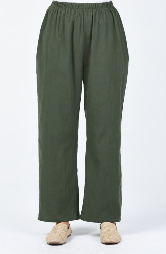 Pantalon Large 0021-01 Khaki 0021-01