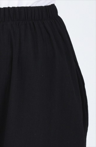 Pantalon Large 0021-02 Noir 0021-02