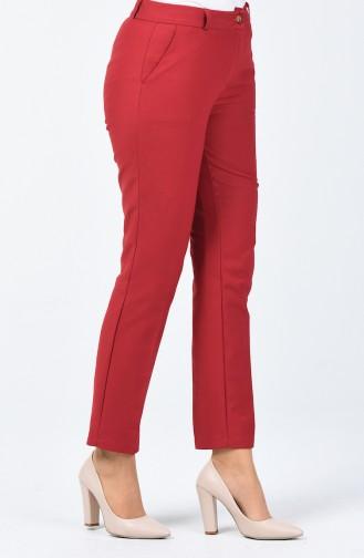 Pantalon Classique 1341PNT-01 Bordeaux 1341PNT-01