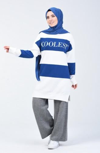 Indigo Sweatshirt 0814-02