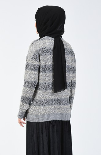 Pull Tricot  5046-02 Gris 5046-02