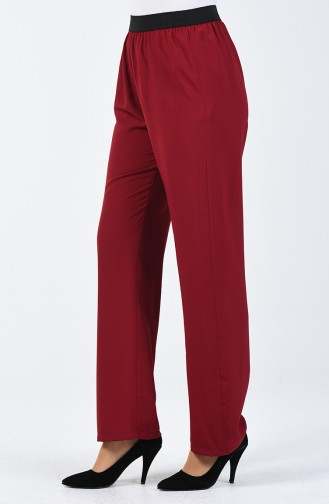 Pantalon de Marche Viscose 6434-03 Bordeaux 6434-03