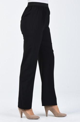 Pantalon de Marche Viscose 6434-04 Noir 6434-04