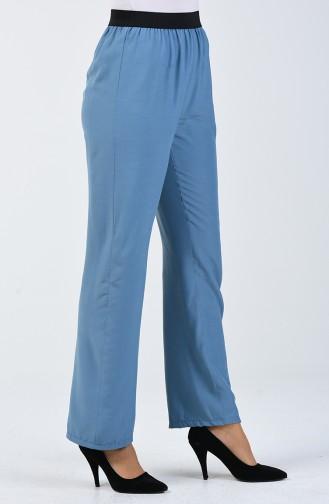 Pantalon de Marche Viscose 6434-05 İndigo 6434-05