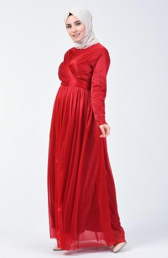 Robe de Soirée à Paillettes 0246-02 Bordeaux 0246-02