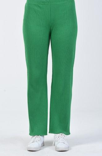 Pantalon Tricot Large 4492-13 Vert Herbe 4492-13