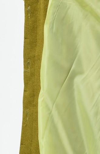 Caban à Boutons Cachés 0850A-02 Vert Pistache 0850A-02