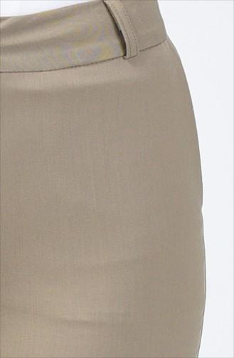 Cepli Klasik Düz Paça Pantolon 1338PNT-03 Çağla Yeşili
