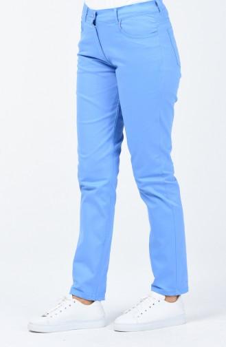 Cepli Kot Pantolon 0659A-05 Mavi