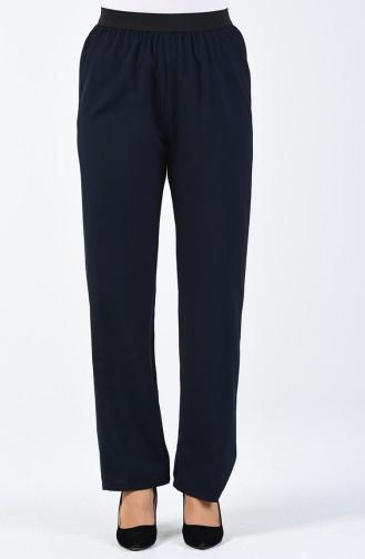 Pantalon Bleu Marine 6434-01