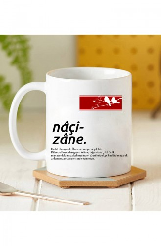 Tasse à Café BA01-227 Blanc 01-227