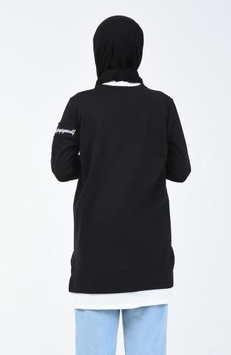 Black Sweat shirt 0818-03