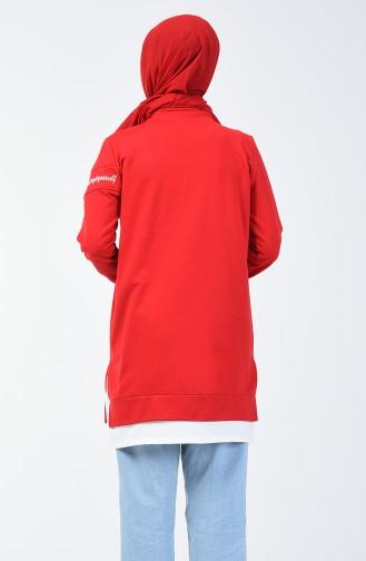 Sweatshirt 0818-05 Rouge 0818-05