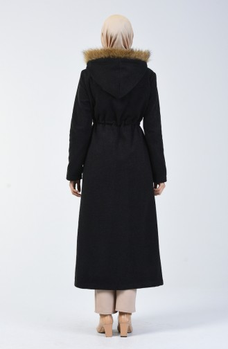 Anthracite Long Coat 6836-03