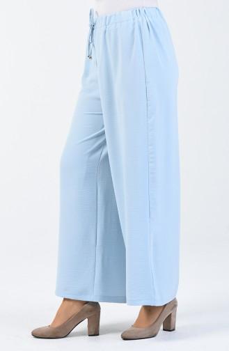 Pantalon Large Aerobin 0059-06 Bleu Bébé 0059-06