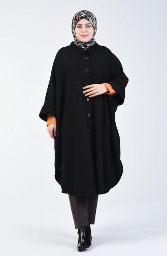 بونشو جوخ شتوي أسود 9001-01