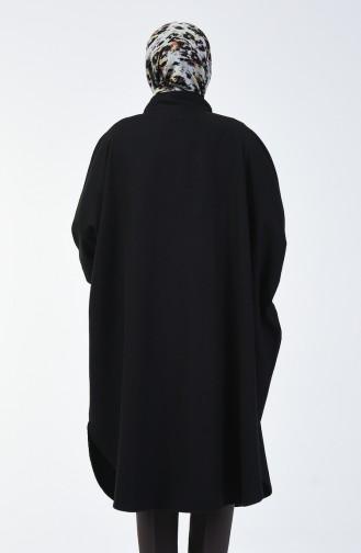 Poncho Hivernal 9001-01 Noir 9001-01