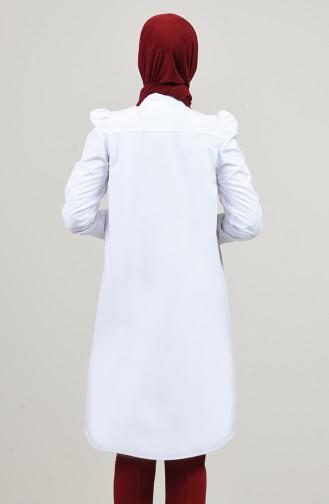 Tunique Blanc 0045-03