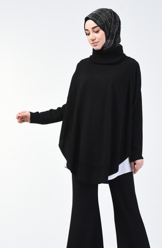 Black Poncho 1404-05