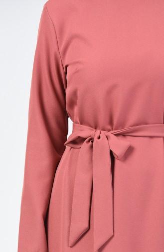 Robe avec Ceinture 60087-02 Pelure D´oignon 60087-02