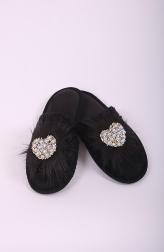 Black Woman home slippers 31-01