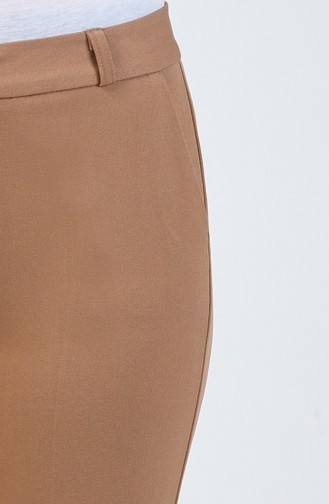 Klasik Düz Paça Pantolon 3114PNT-03 Camel