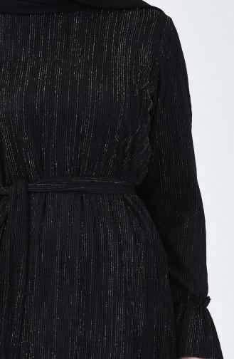 Simli Tunik 0027-05 Siyah