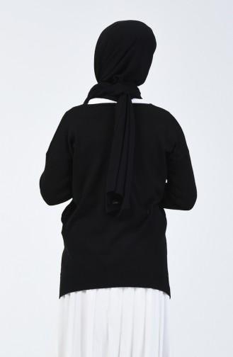Triko V Yaka Kazak 0510-05 Siyah