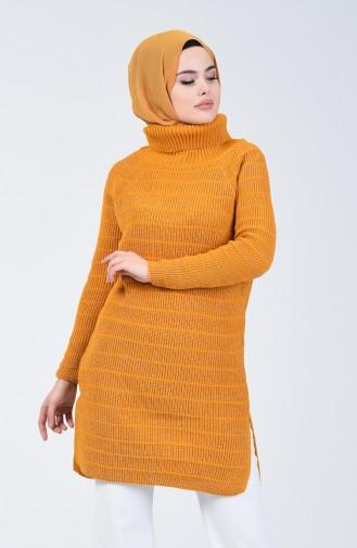 Triko Simli Kazak 5021-01 Hardal