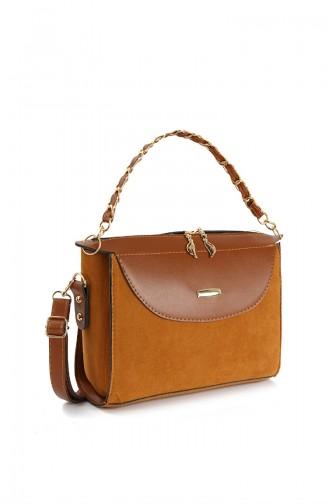Brown Shoulder Bag 10683KA