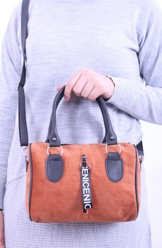 Tobacco Brown Shoulder Bag 03-02